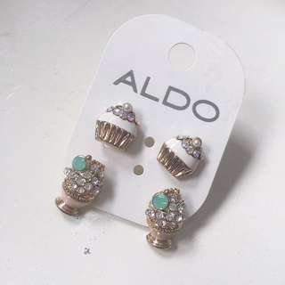 Aldo Dessert Earrings (2 sets)