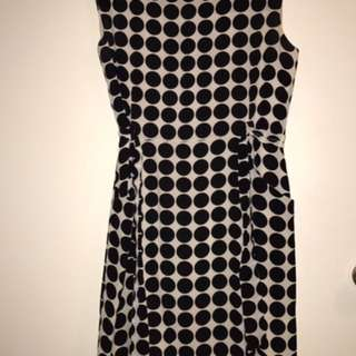 GORMAN Polka Polka Dot Dress Size 10