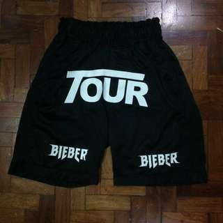 Justin Bieber Stadium Shorts (Purpose Merch 2017)