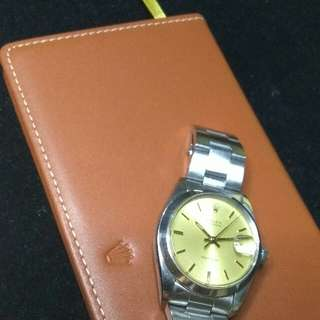 Rolex 6694 Gold Dial Vintage Oysterdate Tudor Oris Ball vintage Omega  16014