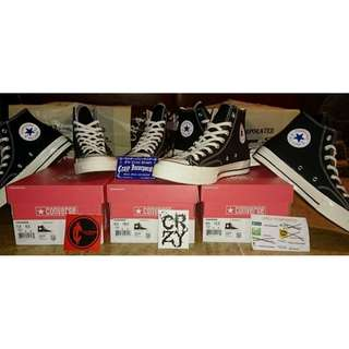 Converse CT 70's Hi Black/White Original