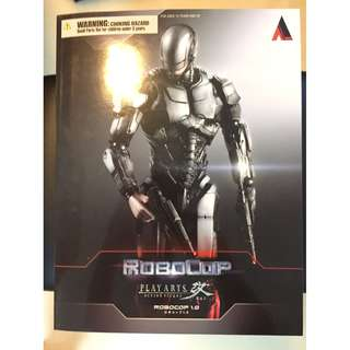 Genuine 正版 PLAY ARTS Kai 改 Robocop 鐵甲威龍 1.0 2014
