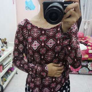 Sweater Red HnM