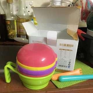 BB學習碗研磨碗套裝