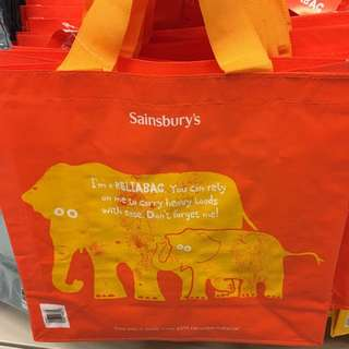 Sainsbury's shopping bag