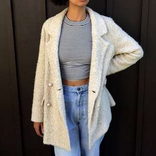 Forever 21 Wool Jacket in Large