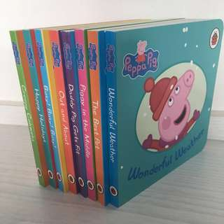 Peppa Pig story books - set of 8