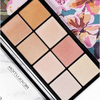 Ultra Pro Glow Highlighting Palette By Makeup Revolution