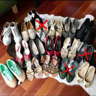 Closet Cleaning - Designer Shoes: YSL, Brian Atwood, Balenciaga, Manolo Blahnik, Nike, Hermes