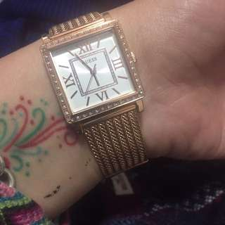 Guess gold watch!