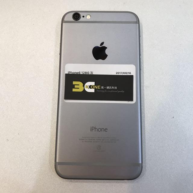 [凱ㄧ3C]APPLE IPHONE6 128G 太空灰 福利品[可免卡分期][可搭配門號]