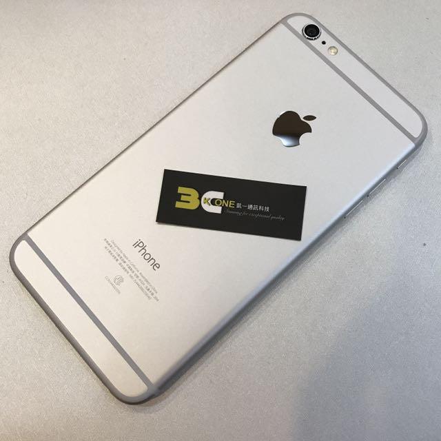 [凱ㄧ3C]APPLE IPHONE6PLUS 5.5吋 128G 銀色 福利品[可免卡分期][可搭配門號]