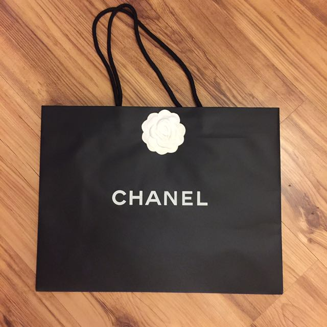 香奈兒紙袋(長43高33公分)