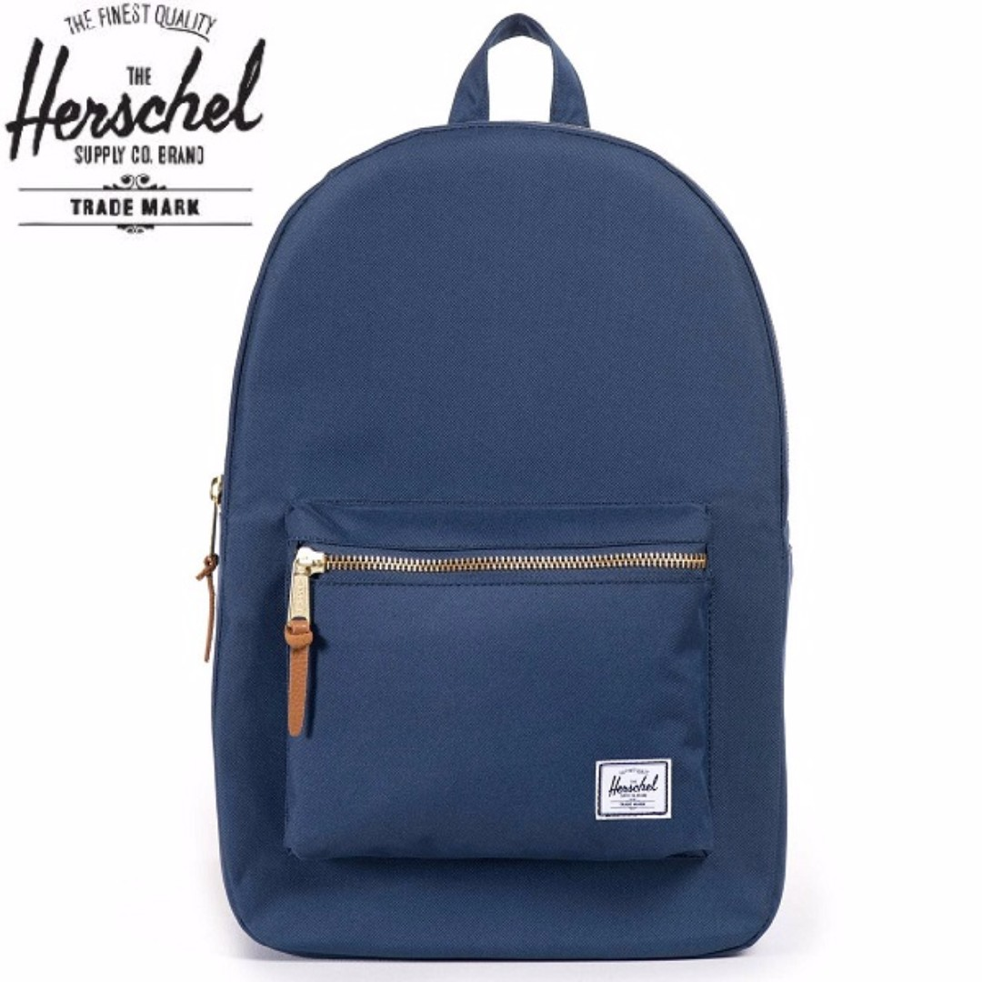 50 SALE! ✓Herschel Settlement Backpack (Navy Blue) 34dfc3c5aa