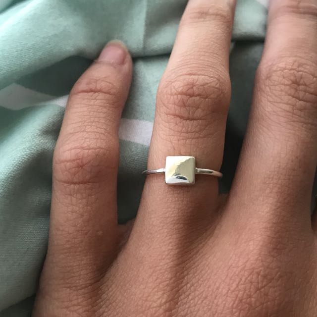925 Sterling Silver Cube