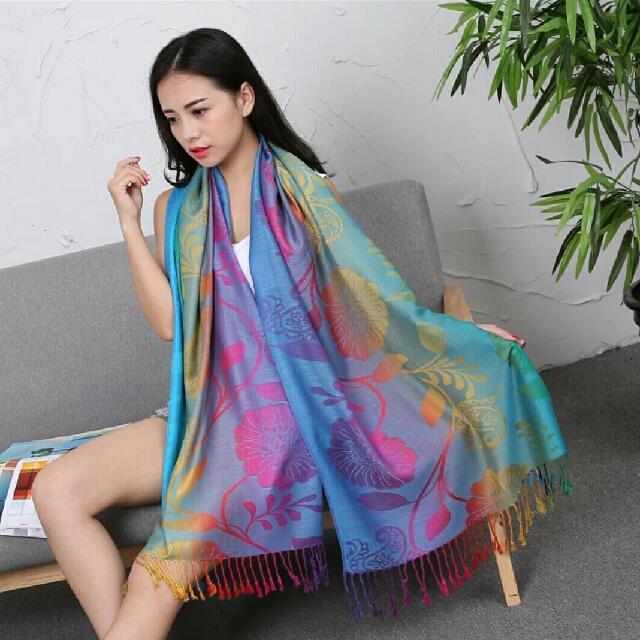 民族風披巾