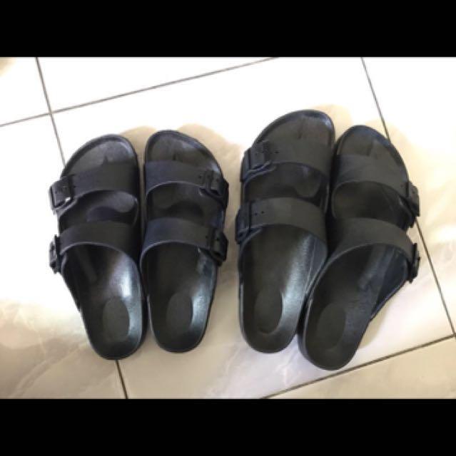 防水情侶類勃肯拖鞋