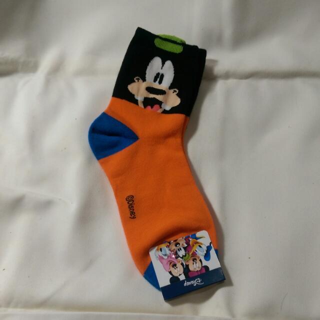 韓國迪士尼經典卡通高飛造型棉襪