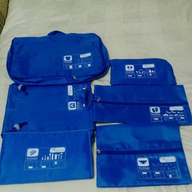六件式行李箱收納包