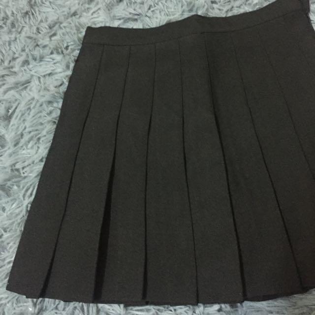黑色百褶裙 #女裝九九出清