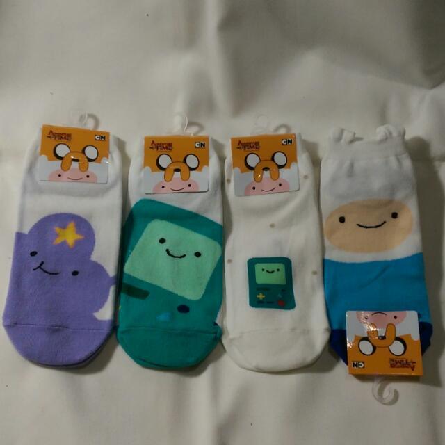 韓國 經典卡通 探險活寶造型 短襪
