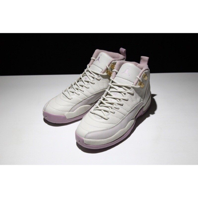 factory authentic c5967 bc34e 正品Air Jordan 12 Retro Heiress Plum Fog 櫻花 女鞋 限量 籃球鞋 運動鞋