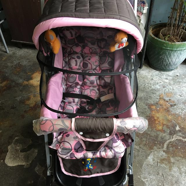 Aprova baby stroller pink/brown