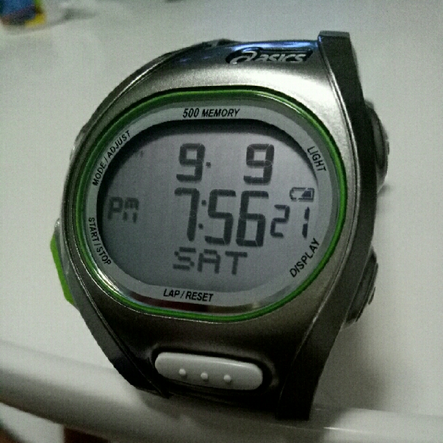 Admirable conductor Optimismo  Asics Running Watch (WJ11-4000), Sports, Sports & Games Equipment on  Carousell