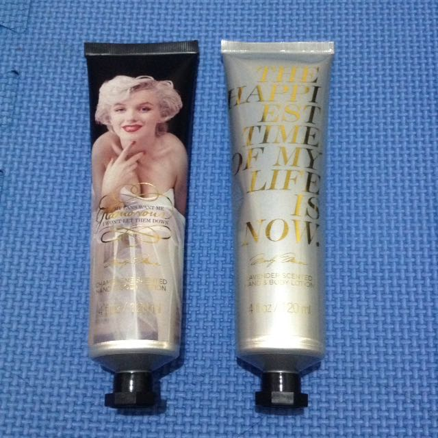 Auth Marilyn Monroe Body Lotion