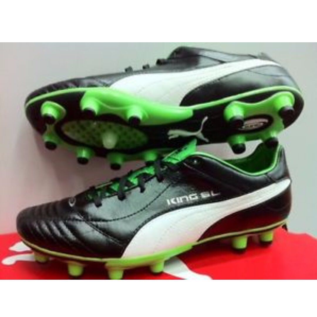 7b147ff9d64 Authentic Puma King SL FG US 9   UK 8