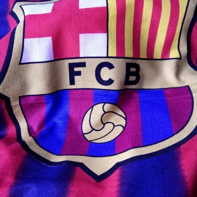 BARCA OFFICIAL FOOTBALL TOWEL
