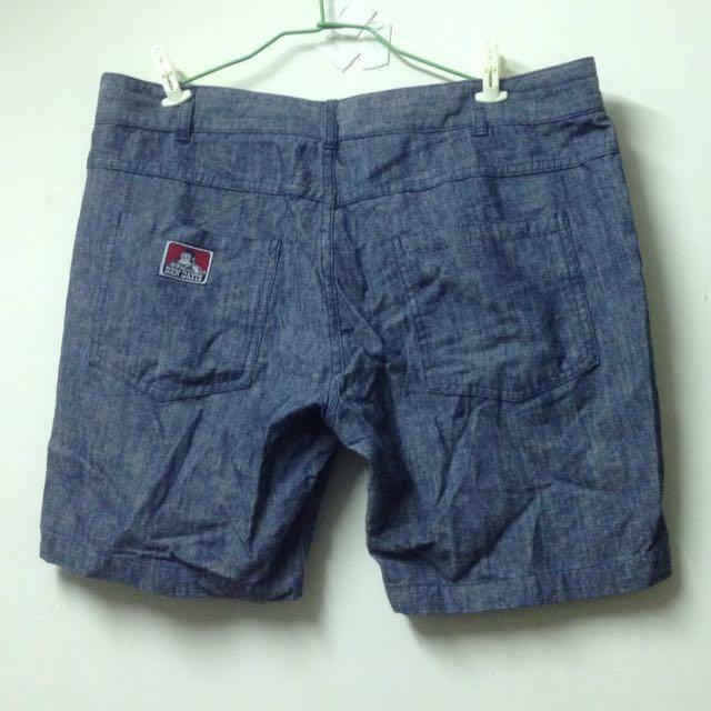 Ben David 牛仔工作短褲