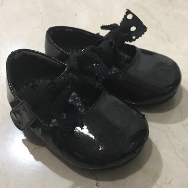 Black Mary Jane's Shoes