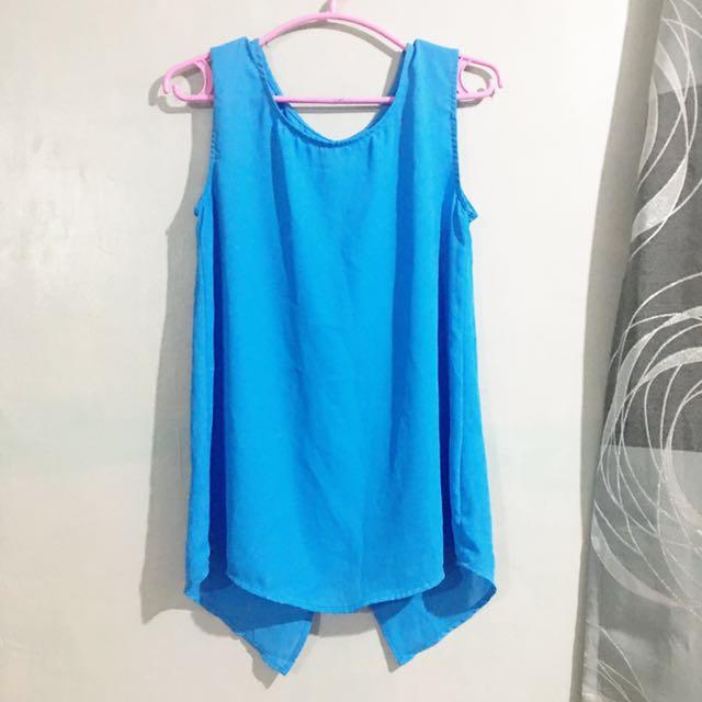 Blue S-Top