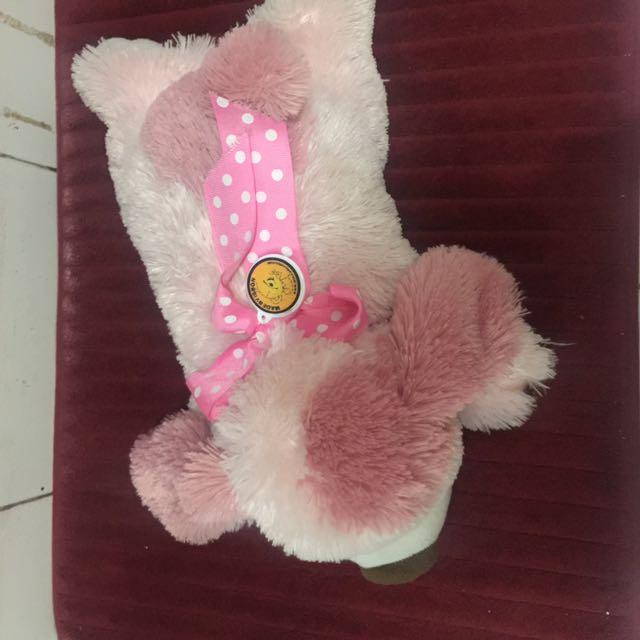 Boneka dog pink