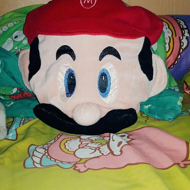 Boneka Mario Bross