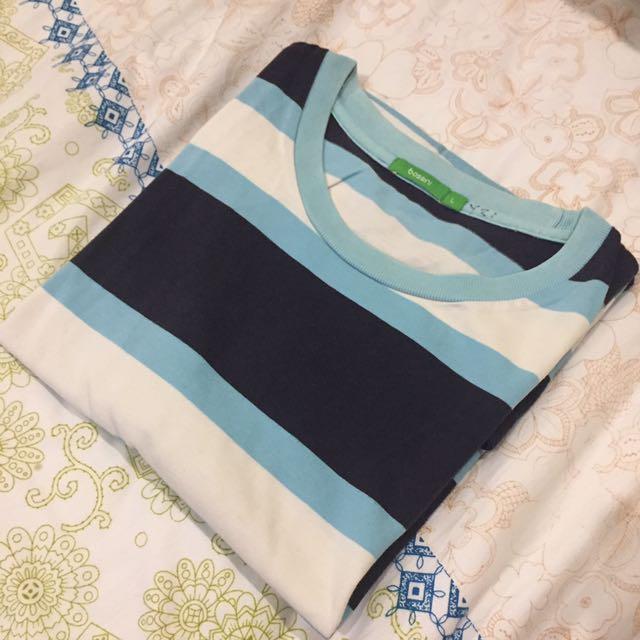 Bosini Strip Tshirt