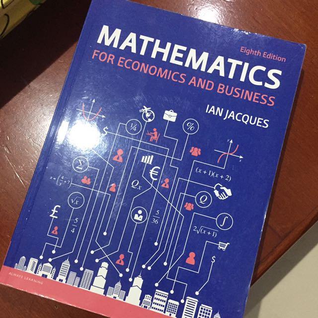Buku Mathematics for economics and bussiness
