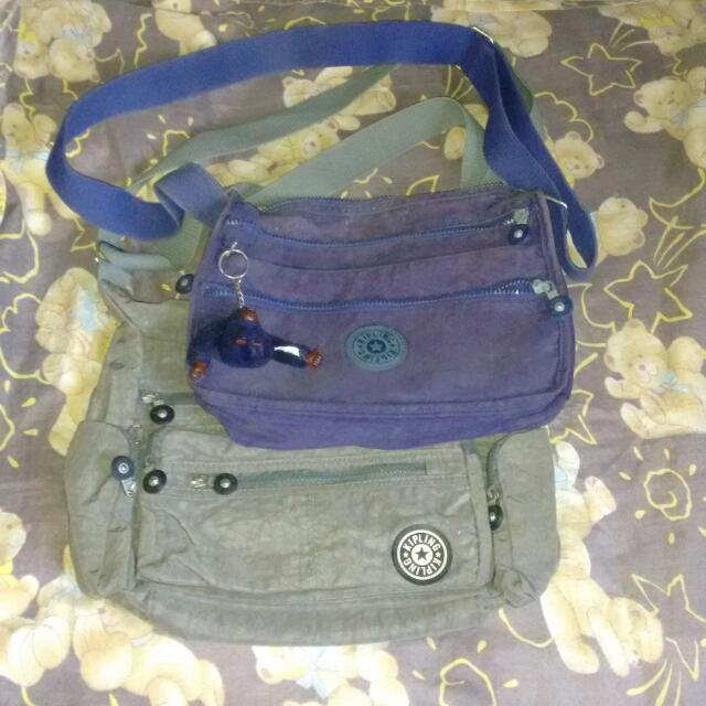 Bundle kiplings sling bags