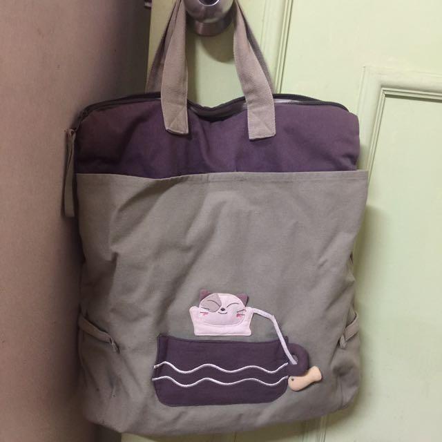 Candy cat 貓咪 手提袋