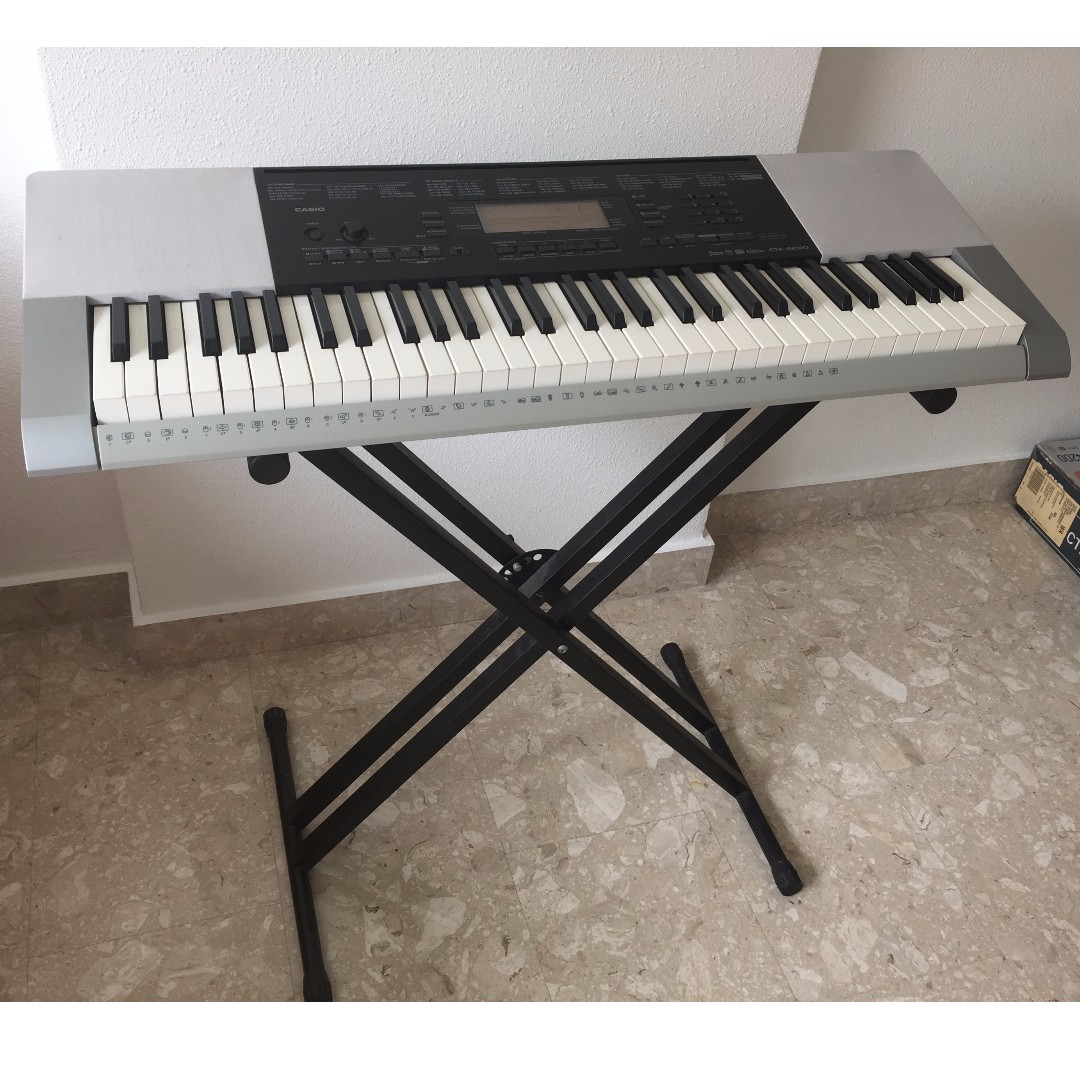 Casio CTK-4200 61 Keys Keyboard (letting go at half-price compared to brand  new)
