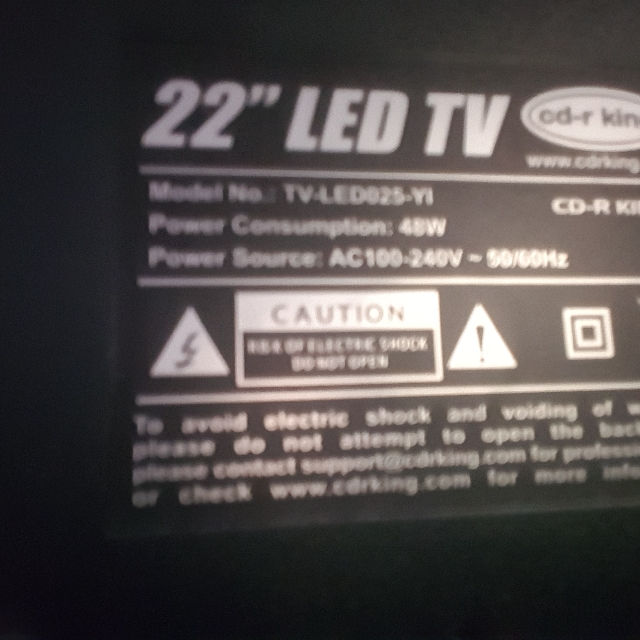 CDR King LED Monitor And TV