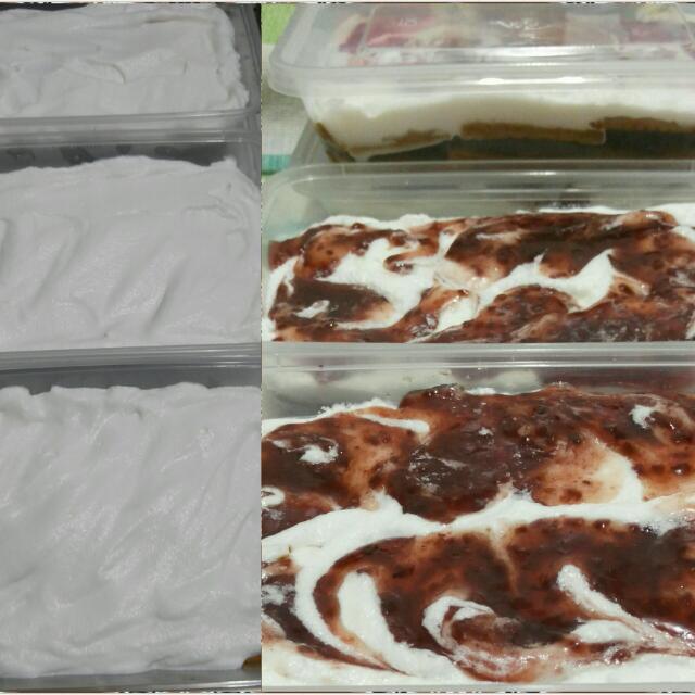 Choco-Raspberry Moussey Tiramisu