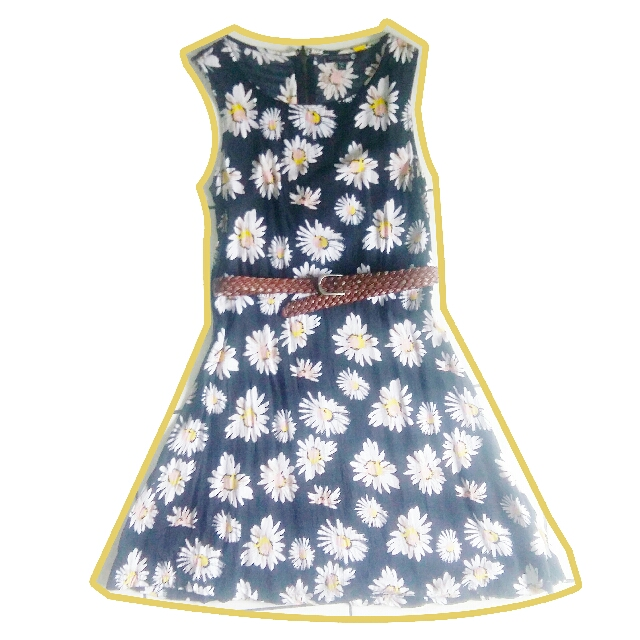 Cotton On Daisy Vintage Black Dress