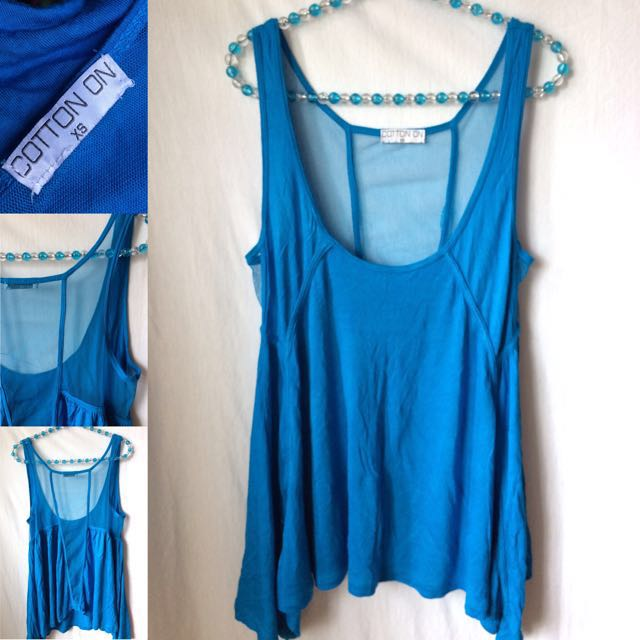 Cotton On Loose Tank Top (NEW) | Size: XS