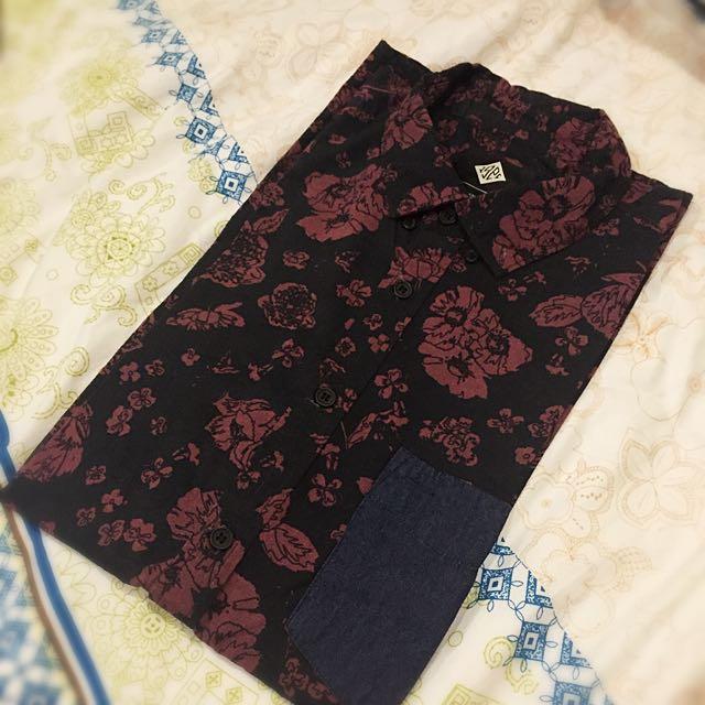 Cotton on rose shirt