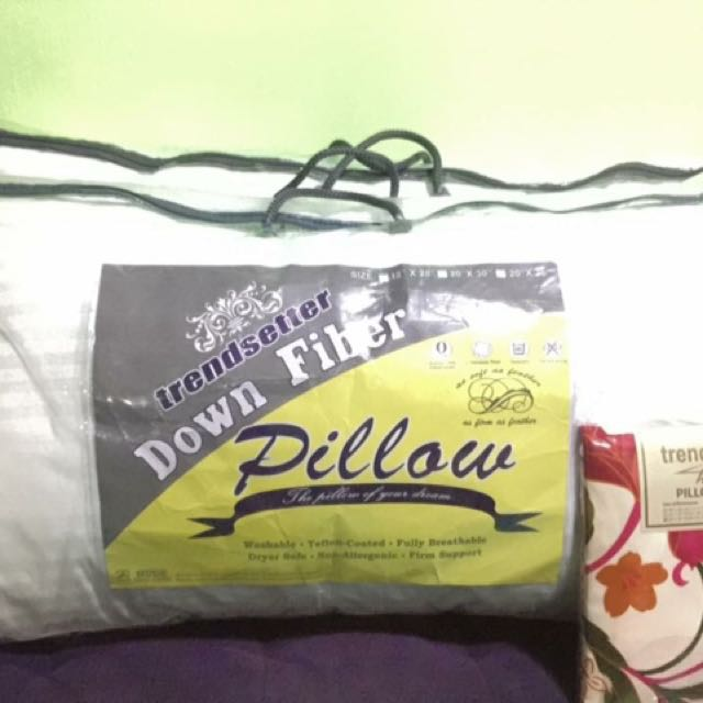 2pcs Cotton Pillow By Trendsetter