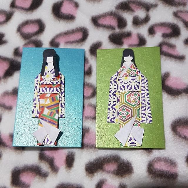 Customised Origami Doll Bookmark