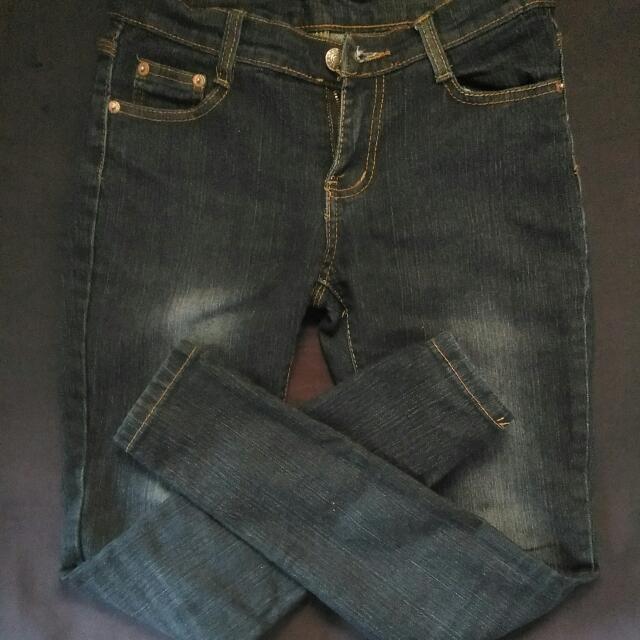 Denim Lab Dark Blue Jeans