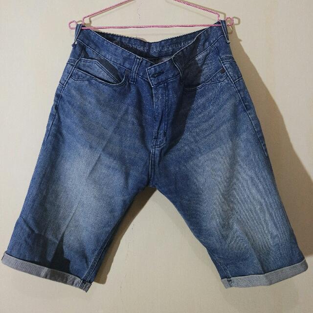 Denim Short Pants (FADE)